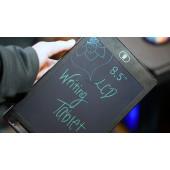 TFY HSP85 Přenosný LCD tablet, zápisník s perem, 8.5 palců, 21,5 x 14 cm, černý