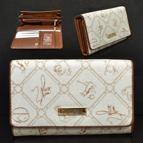 Giulia Pieralli FashionM282 Dámská peněženka krémová