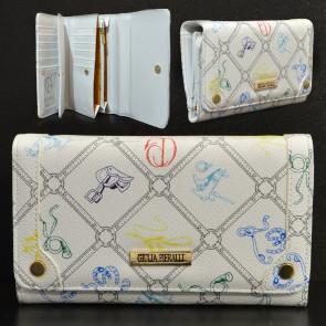 Giulia Pieralli FashionM286Bianco Dámská peněženka bílá