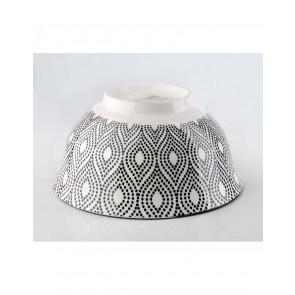 Affek design MX2867 Servírovací porcelánová miska Marocco 600ml, průměr 15 x 7,5 cm  servírovací miska, porcelánová miska, miska porcelánová