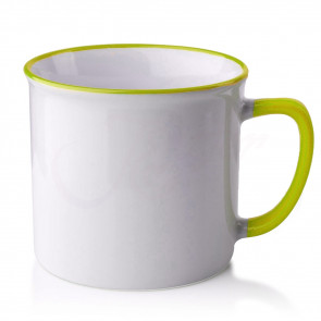 Affek Design MX3805-green Porcelánový hrnek 390ml