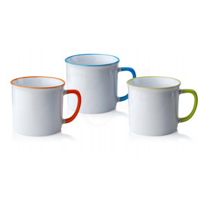 Affek Design MX3805-orange Porcelánový hrnek 390ml
