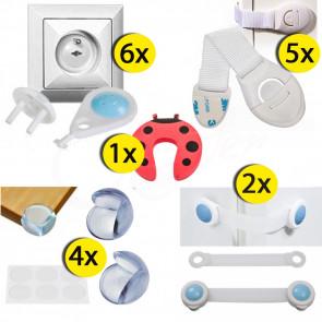 BabySafety MX1small, bezpečnostní sada prvků pro děti 18ks
