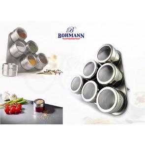 Bohmann BH-7815 Magnetické koreničky 7 ks, nerezové