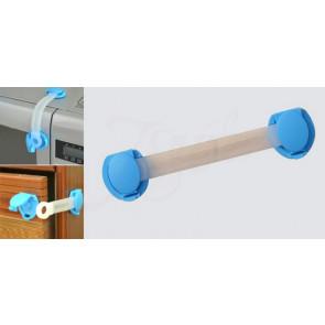 Poistky na zásuvky a chladničky 2ks - BABY ONO modré