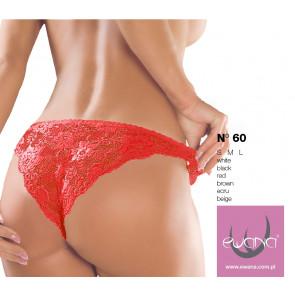Ewana 60 brazilky nohavičky červená
