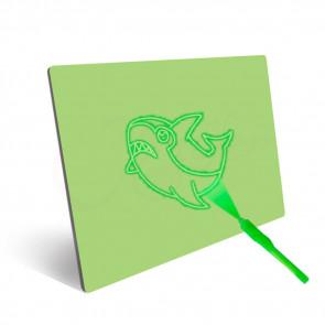 Jenifer 8W2-9 Fluorescenční tabule na psaní 21,7 x 15 cm