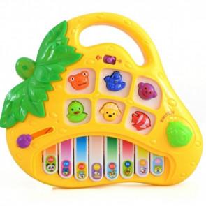 Interaktívne piano Jahôdka,  interaktivna hracka, interaktívna hračka pre deti, veselé piano