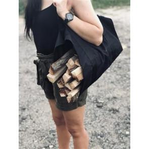 Kaminer 8791 Taška na dřevo 98 x 45 cm, černá