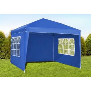 Malatec 2194 Zahradní stan - altán s okny, 3x3 m, počet stěn 3x, modrý