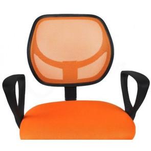 Malatec STL715 Otočná kancelářská židle, oranžová