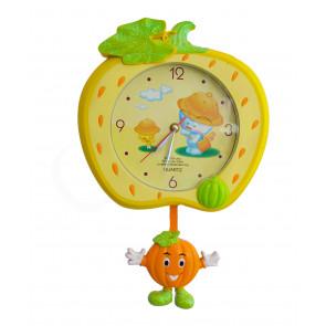 LovelyClock NO.106 Detské nástenné hodiny s kyvadlom