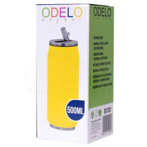 ODELO, OD1381 termohrnček 0,5L COLORS, retro yellow