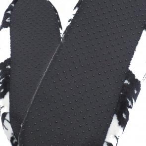 Emi Ross EJ-7007V-BR4 Dětské pantofle, bačkůrky z ovčí vlny, 28-31 vánoční motiv, hnědá
