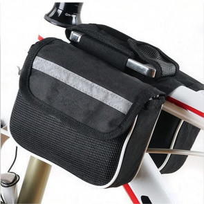 TFY 32.269 Dvojitá taška na středový rám kola 14 x 4 x 11 cm, černá