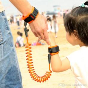 TFY 4018ORANGE Vodítko na ruku pro dítě, oranžová