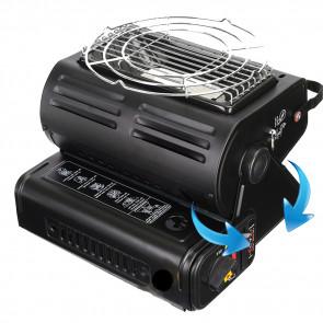 Prenosný plynový ohrievač a varič 1.3kW, plynovy horak, plynovy ohrievac