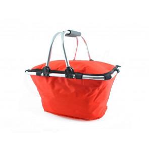 TFY CMP20-0-Red Kempingový košík skládací, červená