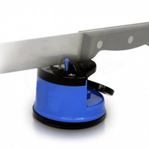 TFY EH13637 Stolní brusič na nože s přísavkou, modry