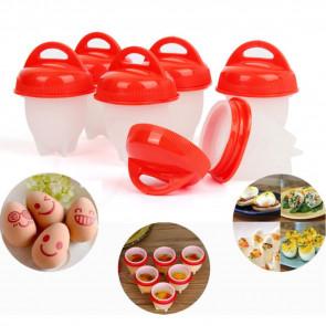 TFY No.10602 Silikónové nádobky na vajíčka, na varenie bez škrupiny, nadoba na vajicka, sada nadob na vajicka, silikonove nadoby na vajíčka