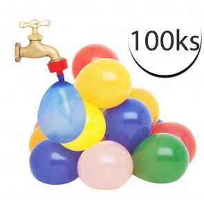 TFY No.18220 Balónky na vodu Vodní bomby samouzavírací 100ks