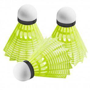 TFY No.82381-0-YL Badmintonové košíčky, žluté, 3 ks