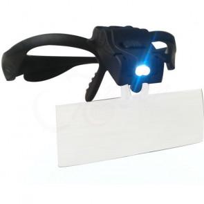 TFY NO.9892 Zvětšovací brýle s LED světlem, 5x ZOOM