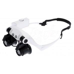 TFY, No.9892G-3A Zvětšovací brýle s LED světlem, 20x zvětšení