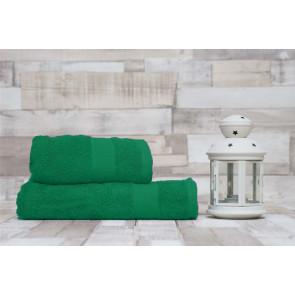 TFY WellnessDG3-DarkGreen Sada bavlněných osušek s ručníky, 2ks, 55 x 100 cm, 70 x 140 cm, tmavě zelená