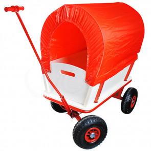 TFY WO-8690 Přepravní vozík na trávu se stříškou do 150kg