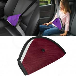 TFY XA7651-purple Návlek na bezpečnostný pás pre deti, fialový